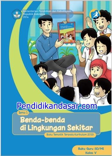 Buku Guru dan Siswa Kelas 5 SD Kurikulum 2013 Revisi 2014