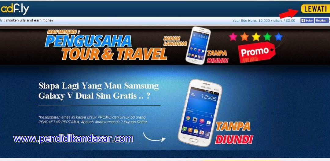 Cara Download Adf.ly dan Google Drive